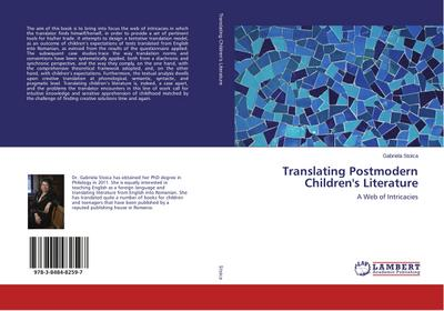 Translating Postmodern Children's Literature - Gabriela Stoica