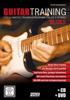Guitar Training Blues, m. Audio-CD u. DVD - Schusterbauer, Daniel