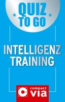 Quiz to go - Intelligenztraining