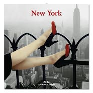 2012 New York Wall Calendar