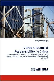 Corporate Social Responsibility in China - Adeyinka Olukoya
