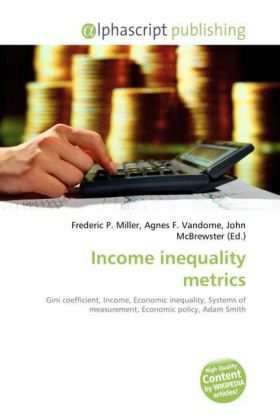 Income inequality metrics