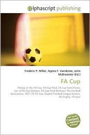 Fa Cup - Frederic P. Miller