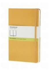 Moleskine Notizbuch, Large, A5, blanko, orange