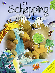 De schepping - stickerboek - Su Box e.a.