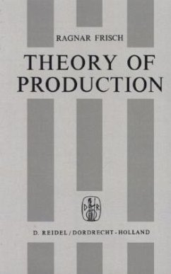 Theory of Production - Frisch, R.