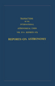 Transactions of the International Astronomical Union - C. de Jager