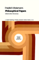 Philosophical Papers - Clive Stanbrook; Friedrich Waismann