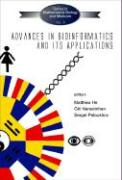 Advances in Bioinformatics and Its Applications - Proceedings of the International Conference