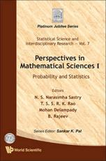 Perspectives in Mathematical Science: Probability and Statistics: Volume 1 - Sastry, N. S. Narasimha (EDT)/ Rao, T. S. S. R. K. (EDT)/ Delampady, Mohan (EDT)/ Rajeev, B. (EDT)