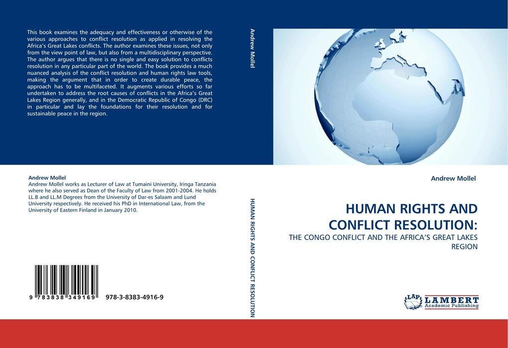 HUMAN RIGHTS AND CONFLICT RESOLUTION: als Buch von Andrew Mollel - Andrew Mollel