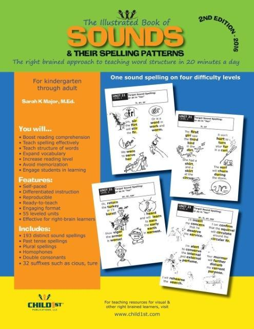 The Illustrated Book of Sounds & Their Spelling Patterns als Taschenbuch von Sarah K. Major - 0982987307