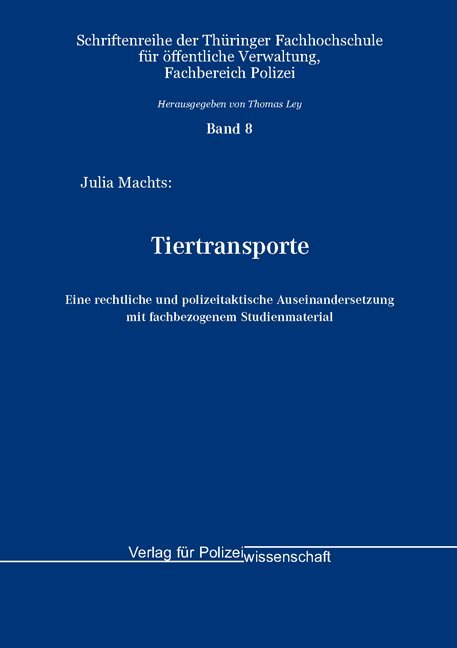 Tiertransporte - Julia Machts