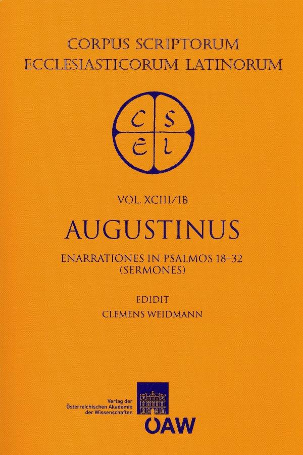 Sancti Augustini Opera.Enarrationes in Psalmos 1-50. als eBook Download von Clemens Weidmann - Clemens Weidmann
