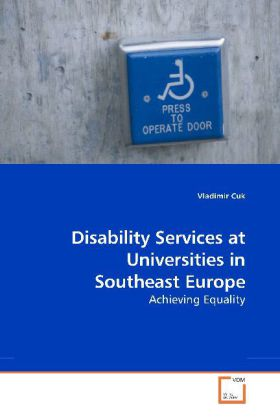 Disability Services at Universities in Southeast Europe - Achieving Equality