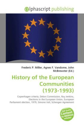 History of the European Communities (1973-1993)