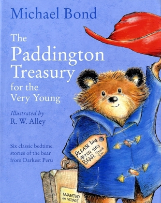 The Paddington Treasury for the Very Young - Six classic bedtime stories of the bear from Darkest Peru. Paddington Paddington at the Palace Paddington at the Zoo Paddington in the Garden Paddington and the Marmalade Maze Paddington the Artist