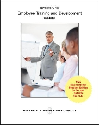 Employee Training & Development - International Student Edition