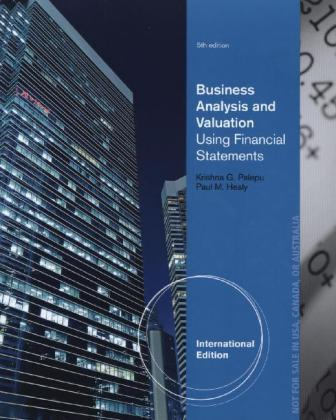 International Edition: Business Analysis and Valuation