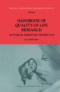 Sirgy, Joseph: Handbook of Quality-of-Life Research