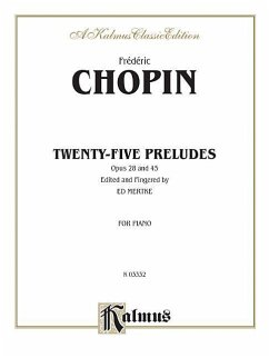 Preludes - Komponist: Chopin, Fr'd'ric Chopin, Fr D. Ric Chopin, Frederic