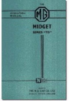 Mg Owners' Handbook: Mg Midget Td - Brooklands Books Ltd