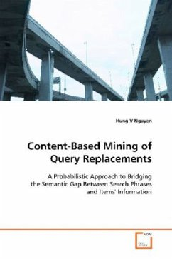 Content-Based Mining of Query Replacements - Nguyen, Hung V