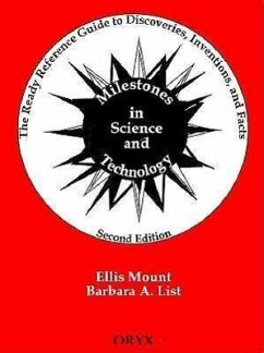 Milestones in Science and Technology: The Ready Reference Guide to Discoveries, Inventions, and Facts - Mount, Ellis