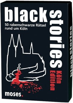 Moses Verlag 483 - Black Stories, Köln Edition - Berger, Nicola