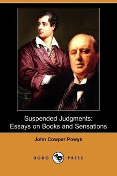 Suspended Judgments - Powys, John Cowper