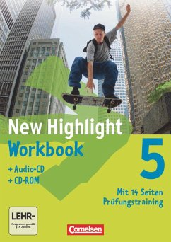 New Highlight 5: 9. Schuljahr. Workbook - Herausgeber: Cox, Roderick; Donoghue, Frank