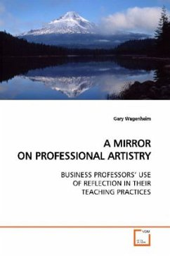 A MIRROR ON PROFESSIONAL ARTISTRY - Wagenheim, Gary