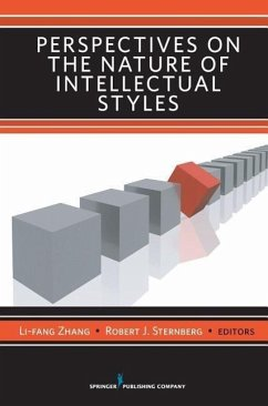 Perspectives on the Nature of Intellectual Styles - Zhang, Li-Fang Sternberg, Robert J. , PhD