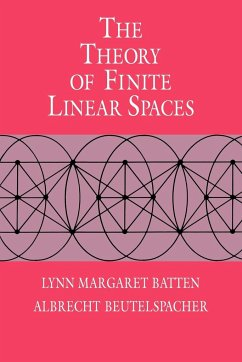 The Theory of Finite Linear Spaces: Combinatorics of Points and Lines - Batten, Lynn Margaret Beutelspacher, Albrecht