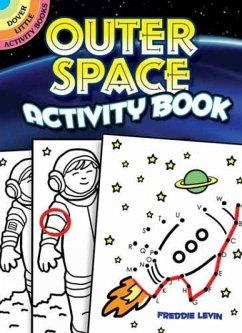 Outer Space Activity Book - Levin, Freddie