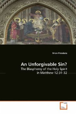 An Unforgivable Sin? - Pizzalato, Brian