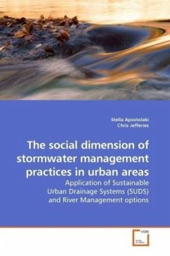 The social dimension of stormwater management practices in urban areas - Apostolaki, Stella