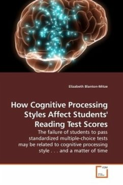 How Cognitive Processing Styles Affect Students' Reading Test Scores - Blanton-Mitze, Elizabeth