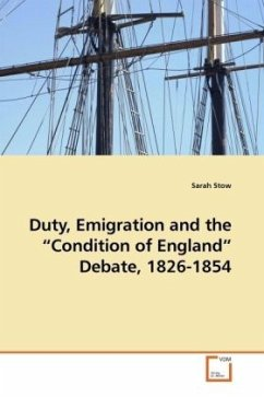 Duty, Emigration and the