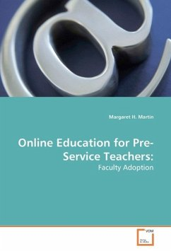 Online Education for Pre-Service Teachers - Martin, Margaret H.