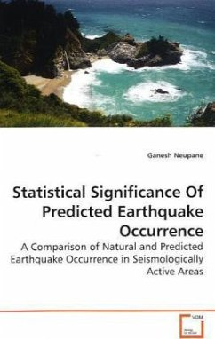 Statistical Significance Of Predicted Earthquake Occurrence - Neupane, Ganesh