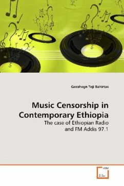 Music Censorship in Contemporary Ethiopia - Bahirtas, Gezahegn Teji