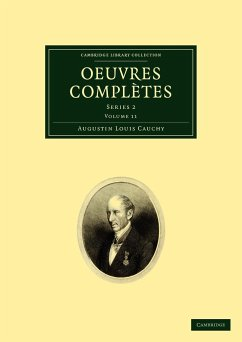 Oeuvres Compl Tes: Series 2 - Cauchy, Augustin-Louis