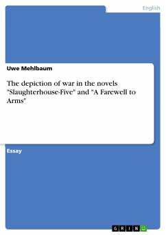 The depiction of war in the novels