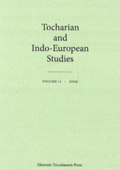 Tocharian and Indo-European Studies - Rasmussen, Jens Elmegard