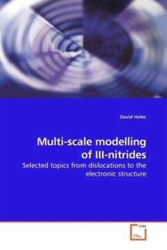 Multi-scale modelling of III-nitrides - Holec, David