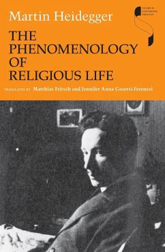 The Phenomenology of Religious Life - Heidegger, Martin