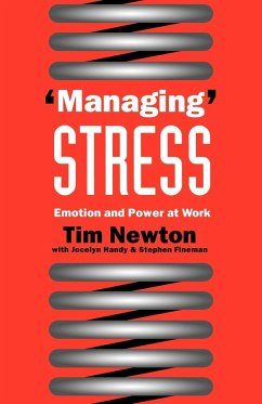 Managing' Stress - Newton, Tim Handy, Jocelyn Fineman, Stephen