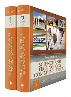 Encyclopedia of Science and Technology Communication 2 Volume Set [With Hardcover Book(s)] - Herausgeber: Priest, Susanna Hornig