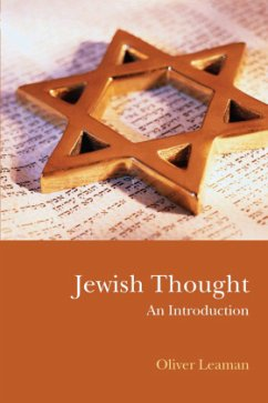 Jewish Thought - Leaman, Oliver